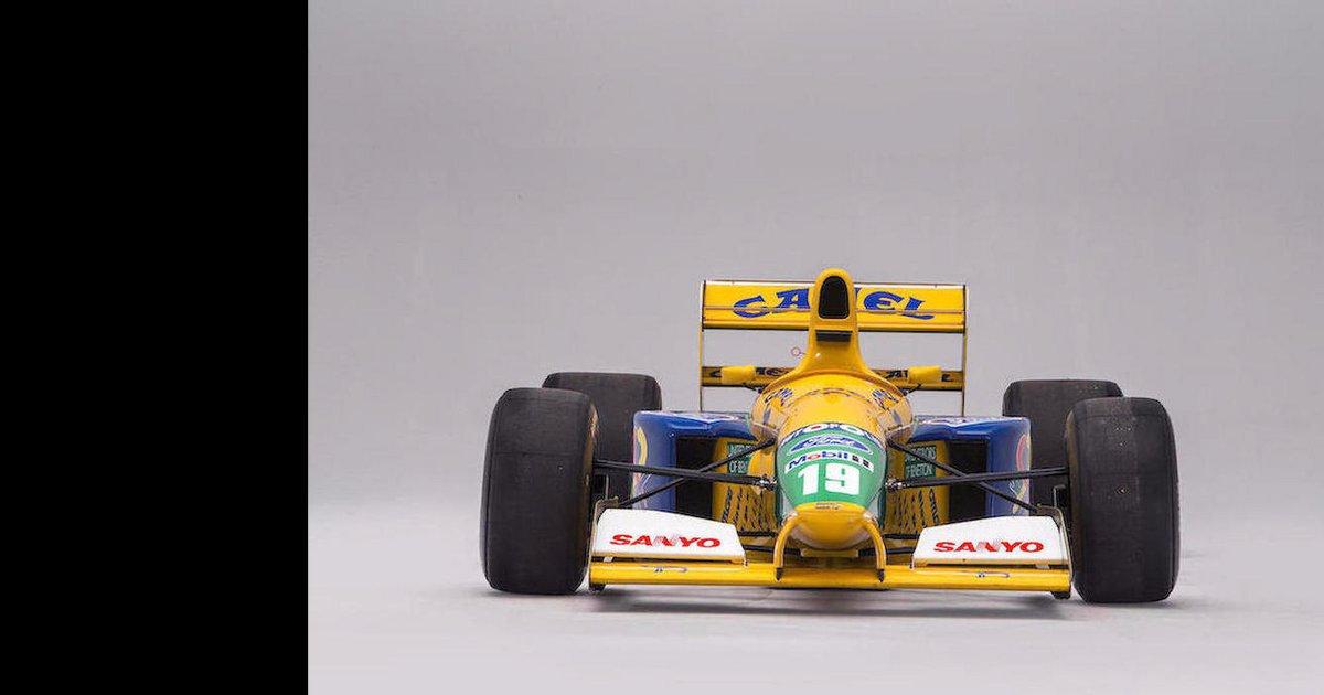 La Formule 1 Benetton B191 de Michael Schumacher aux enchères
