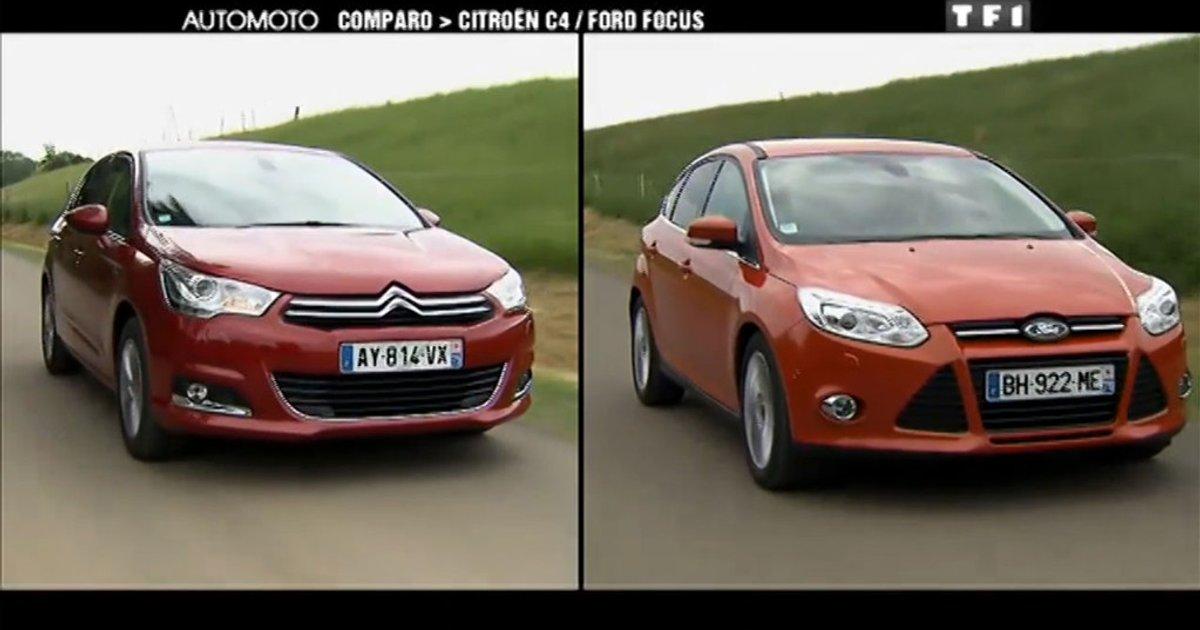 ford focus vs citroen c4 2013