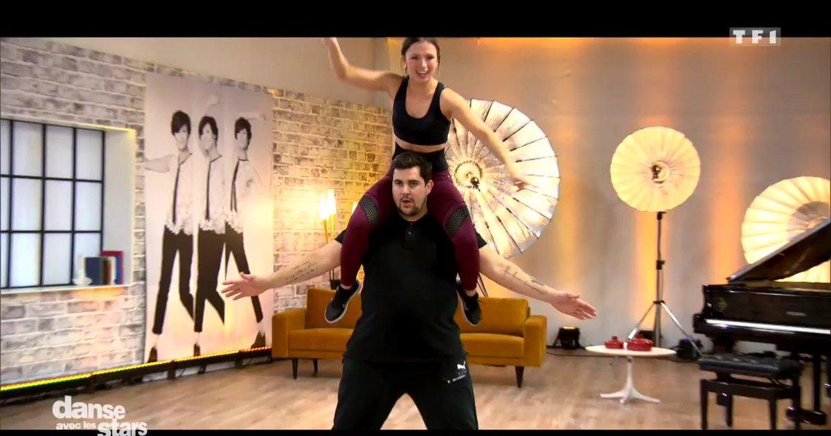 Danse avec les stars  : Artus et Marie Denigot en répétitions de la salsa – première danse  - TF1