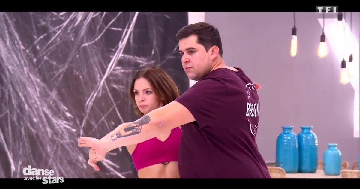 Danse avec les stars  : Artus et Marie Denigot : leur  semaine de répétitions  - TF1