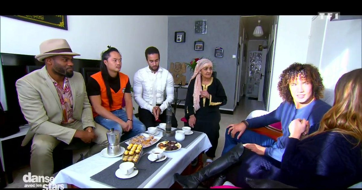 Danse avec les stars  : Bienvenue chez  Laurent Maistret avec  Denitsa Ikonomova  - TF1