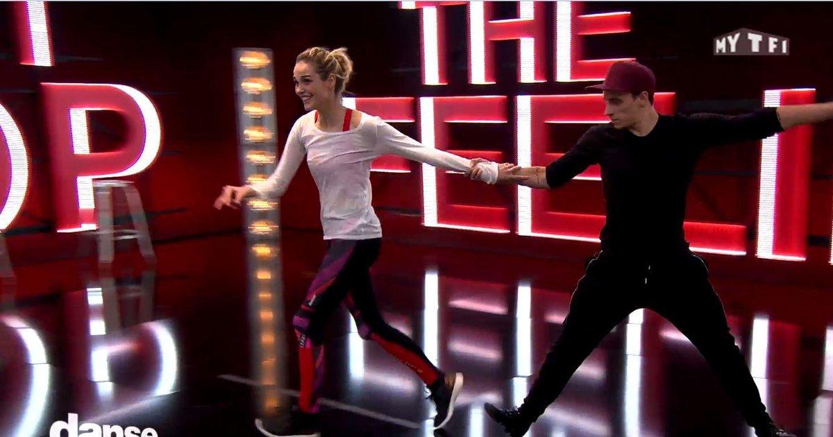 Danse avec les stars  : Ça glisse pour Camille Lou et Grégoire Lyonnet  - TF1