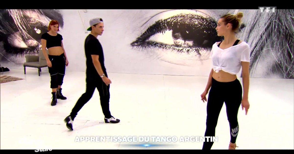 Danse avec les stars  : Camille Lou et Grégoire Lyonnet en répétitions, coachée par Fauve  - TF1