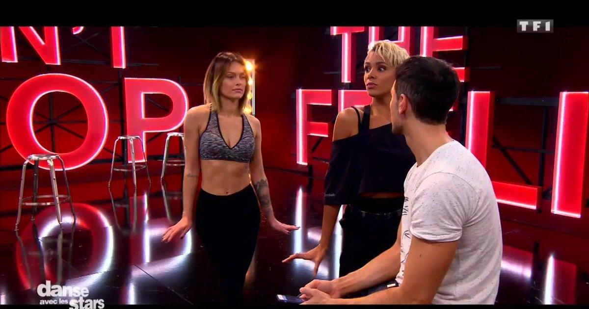 Danse avec les stars  : Caroline Receveur et Maxime Dereymez en répétitions  - TF1