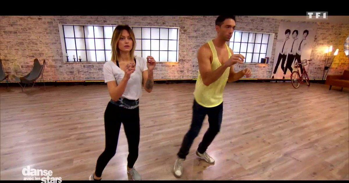 Danse avec les stars  : Caroline Receveur et Maxime en répétitions de la samba - première danse  - TF1