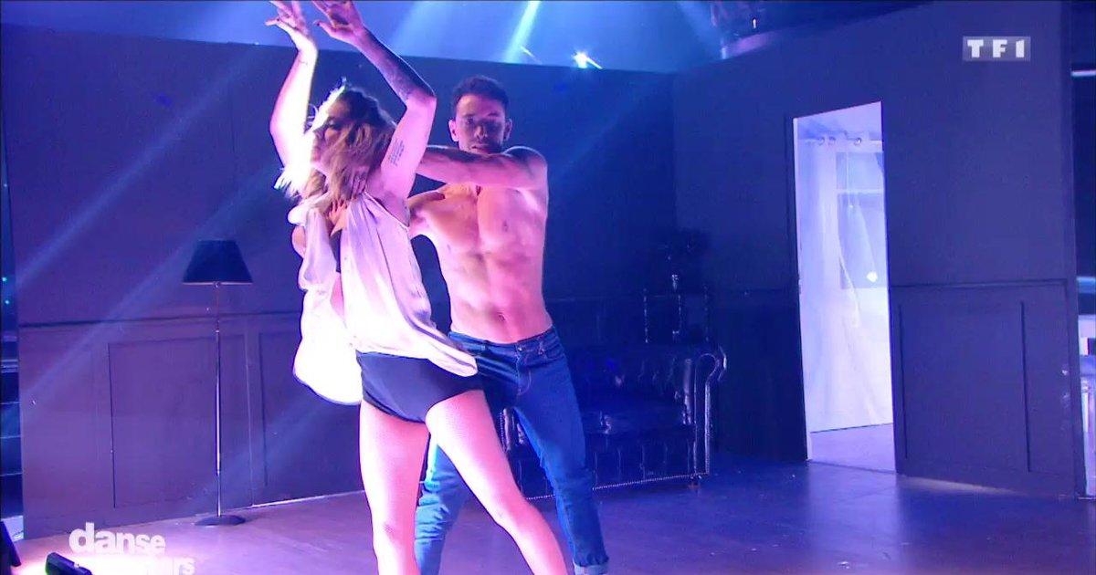 Danse avec les stars  : Danse contemporaine pour la 2è danse de Caroline Receveur et Maxime sur  « Big Girls Cry» (Sia)  - TF1