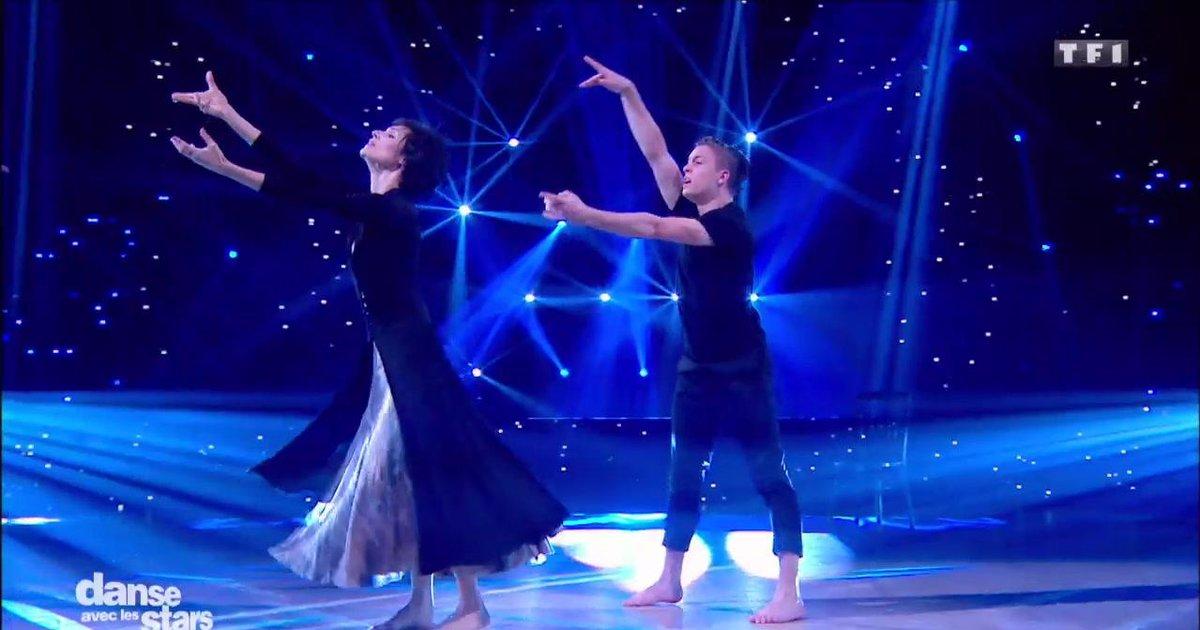 Danse avec les stars  : Danse de Pietragalla avec Loïc Nottet sur « L'aigle noir » (Barbara)  - TF1