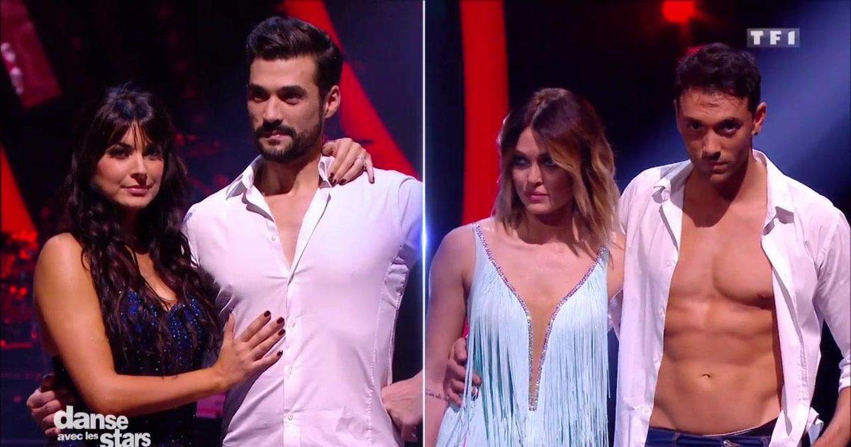 Danse avec les stars  : Qui de Caroline Receveur ou Florent Mothe a quitté la piste au 7è Prime de Danse avec les Stars ?  - TF1