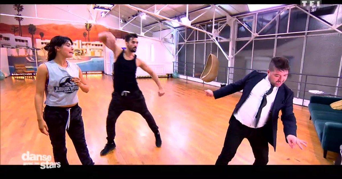 Danse avec les stars  : Florent Mothe et Candice Pascal en répétitions  - TF1