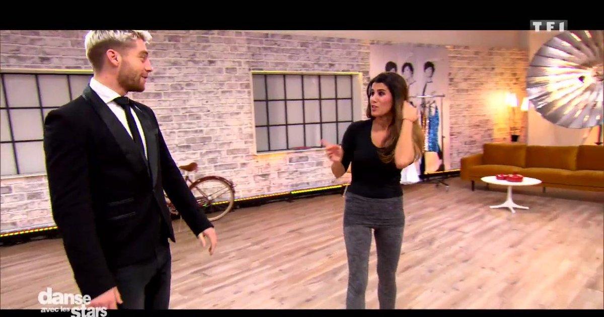 Danse avec les stars  : Karine Ferri et Yann-Alrick Mortreuil : leur semaine de répétitions  - TF1