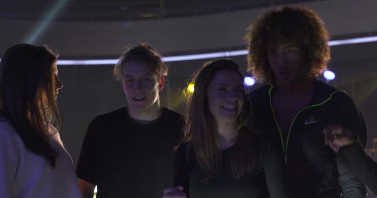 Danse avec les stars  : Laurent Maistret et Loïc Nottet : leurs répétitions Plateau  - TF1