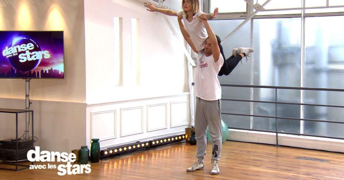 Danse avec les stars  : Maxime à Caroline Receveur : « Il faut qu'on prévoie un porté »  - TF1