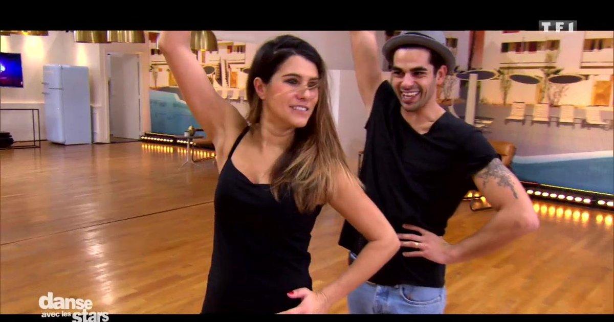Danse avec les stars  : Répétitions du flamenco pour la 2è chorégraphie de Karine Ferri et Christophe Licata  - TF1