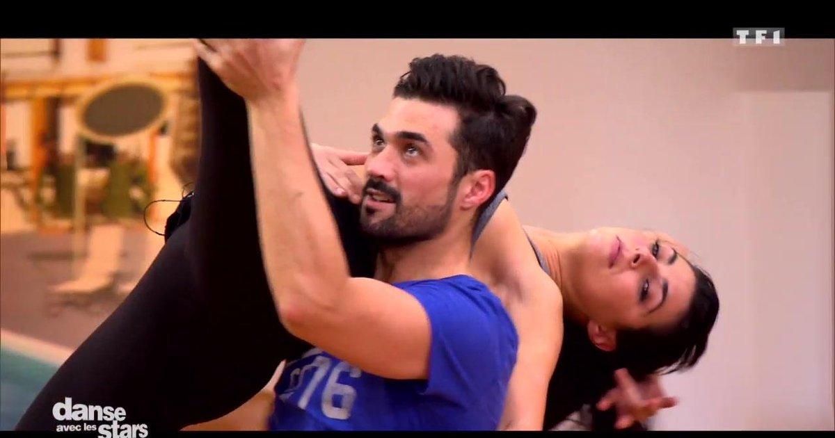 Danse avec les stars  : Répétitions du foxtrot pour la 2è chorégraphie de Florent Mothe et Candice Pascal  - TF1