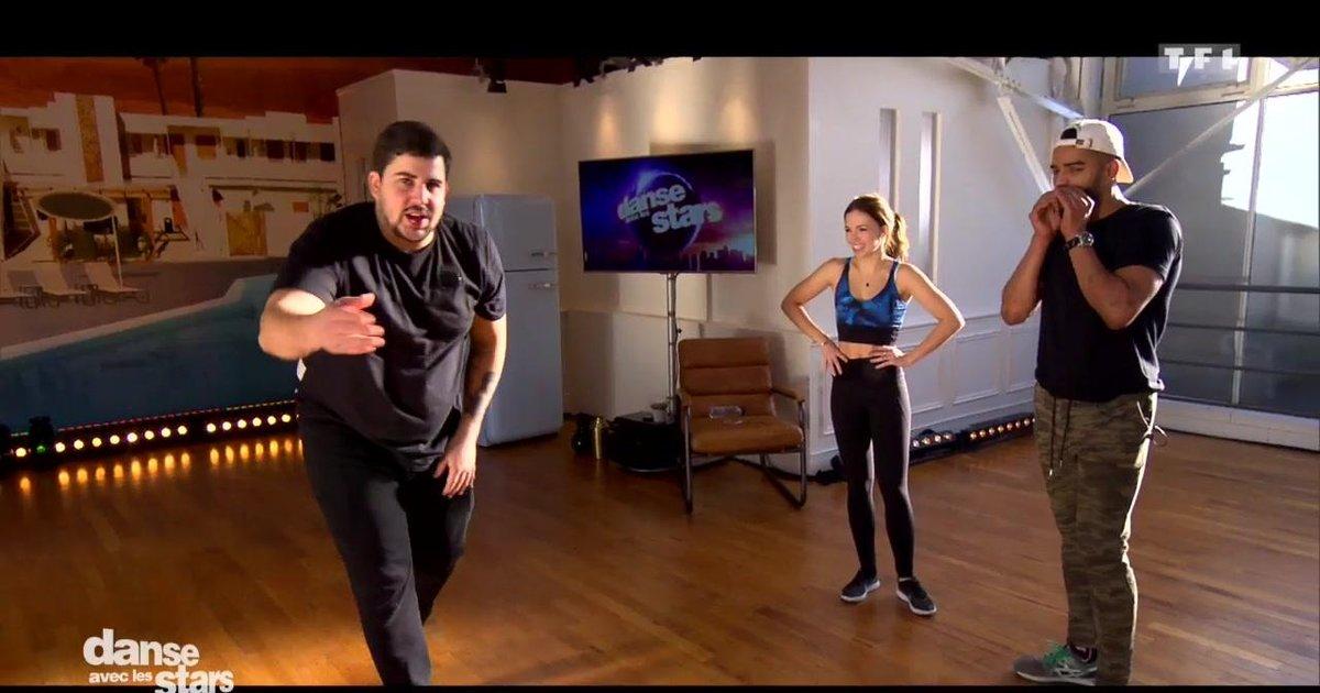 Danse avec les stars  : Répétitions en trio pour Artus, Marie Denigot et Brahim Zaibat  - TF1