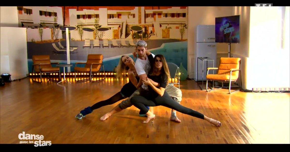 Danse avec les stars  : Répétitions en trio pour Karine Ferri, Yann Alrick et Tonya Kinzinger  - TF1