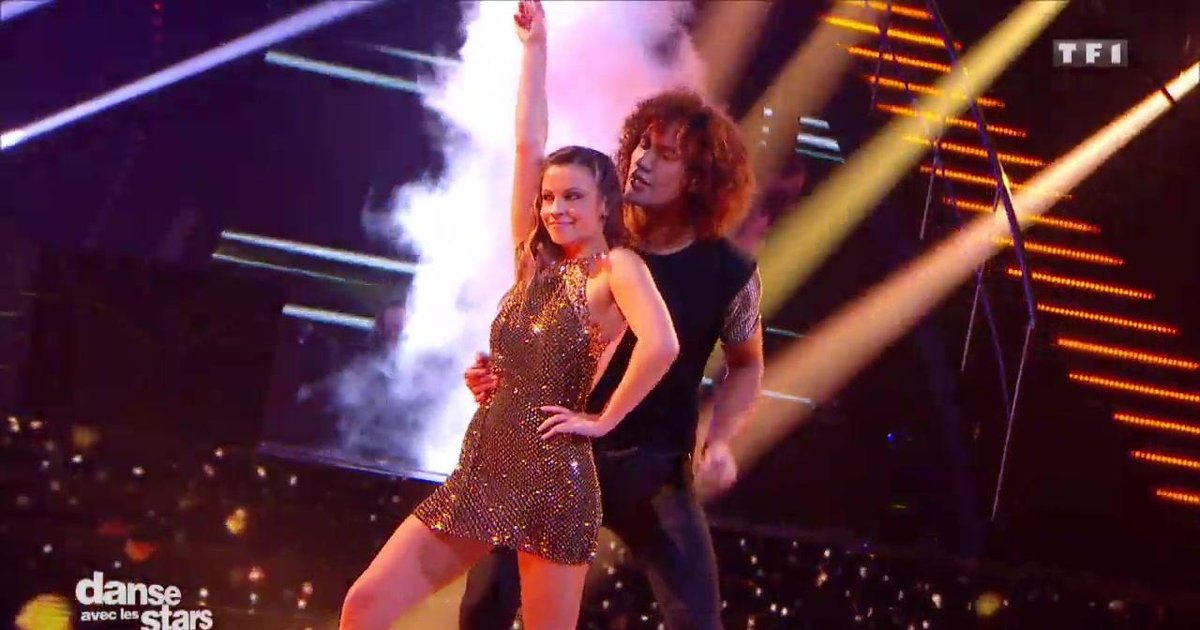Danse avec les stars  : Un chacha pour la 2è danse de Laurent Maistret et Denitsa sur « Can You Feel It » (Jackson Five)  - TF1