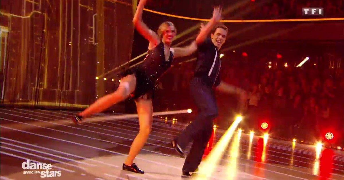 Danse avec les stars  : Un charleston pour Camille Lou et Grégoire Lyonnet  sur « I Got A Women » (Ray Charles)  - TF1