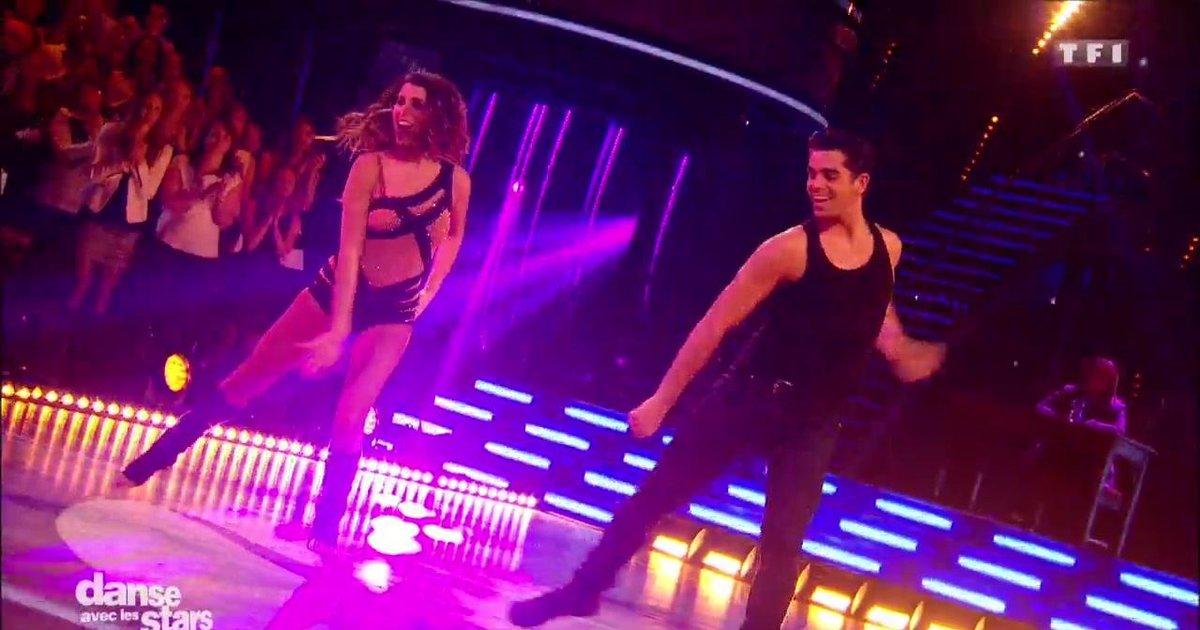 Danse avec les stars  : Un Jazz pour Karine Ferri et Christophe Licata sur « What a Feeling » (Flashdance)  - TF1