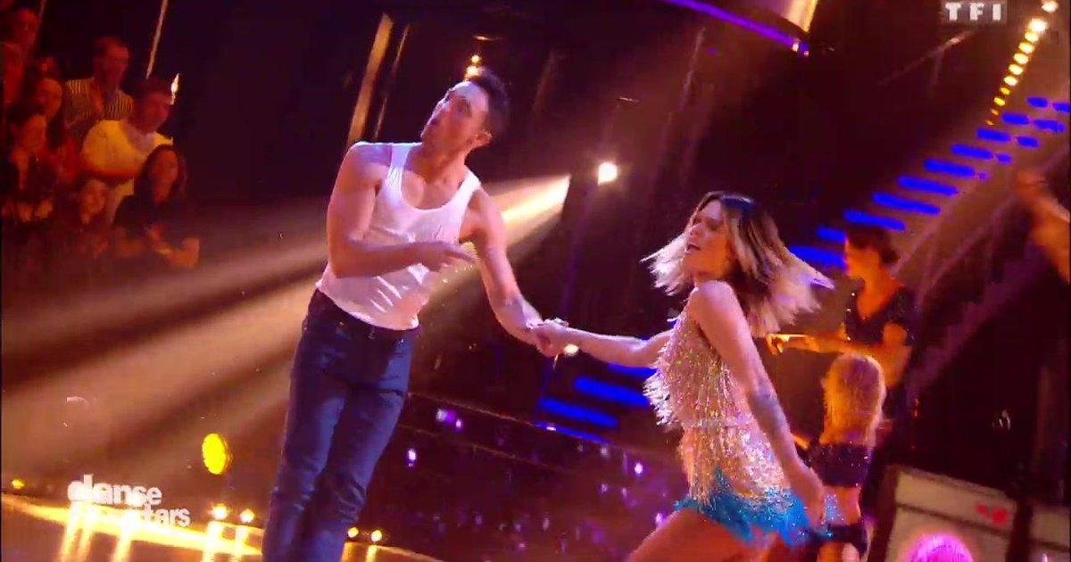 Danse avec les stars  : Un jive pour Caroline Receveur et Maxime Dereymez sur « Happy » (Pharell Williams)  - TF1
