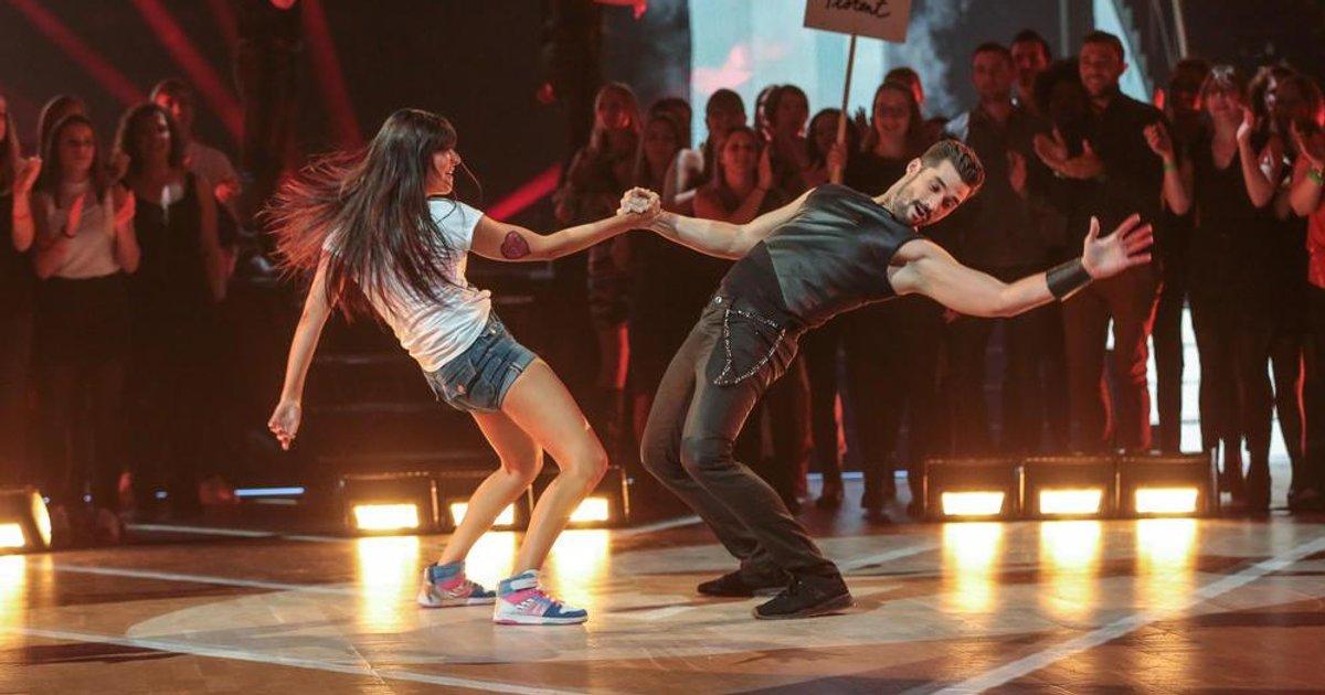 Danse avec les stars  : Un jive pour Florent Mothe et Candice Pascal sur « Baila » (Alliage)  - TF1