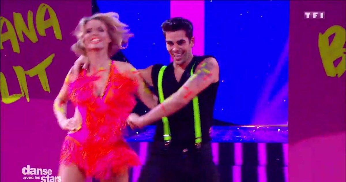 Danse avec les stars  : Un Jive pour Sylvie Tellier et Christophe Licata sur « Banana Split » (Lio)  - TF1