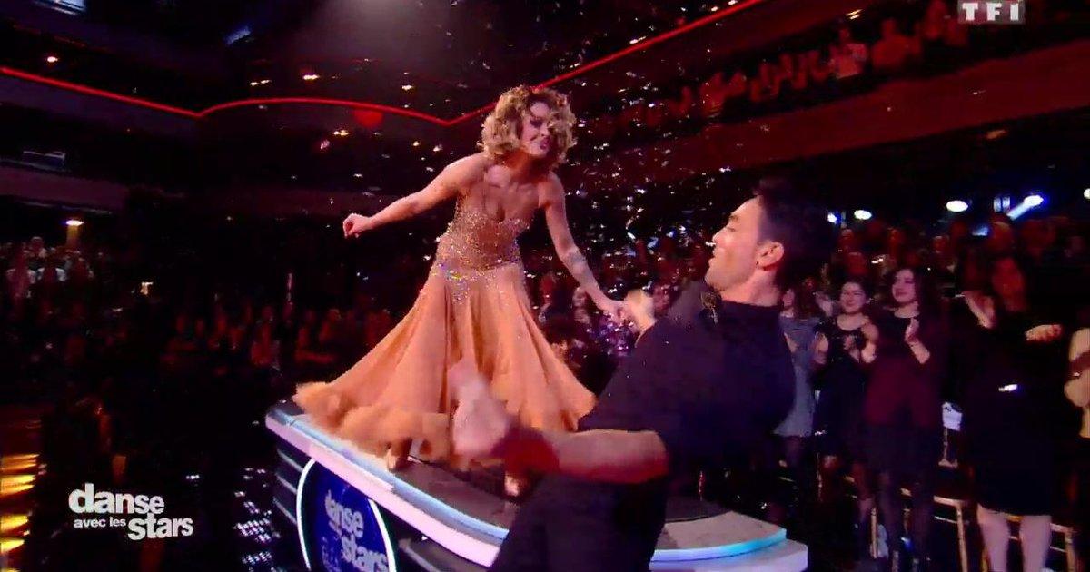 Danse avec les stars  : Un quickstep pour Caroline Receveur et Maxime Dereymez sur « The One That I Want » (Grease)  - TF1