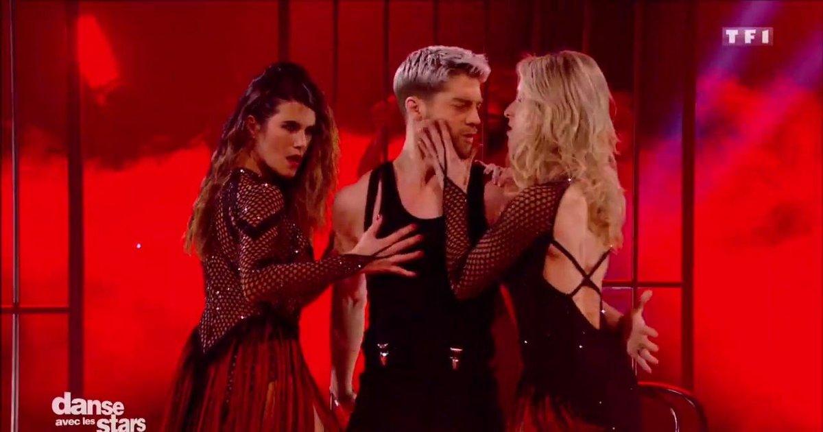 Danse avec les stars  : Un tango en trio pour Karine Ferri, Yann Alrick et Tonya Kinzinger sur « Cell Block Tango » (Chicago)  - TF1
