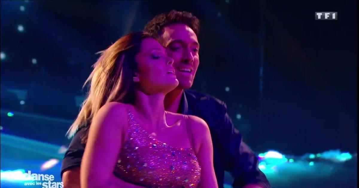 Danse avec les stars  : Une rumba pour Caroline Receveur et Maxime Dereymez sur « Nuits magiques » (Catherine Lara)  - TF1