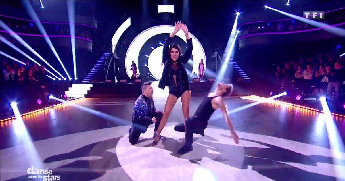 Danse avec les stars  : Karine Ferri et Yann-Alrick avec Chris Marquè, une salsa sur « Booty » (Jennifer Lopez)  - TF1