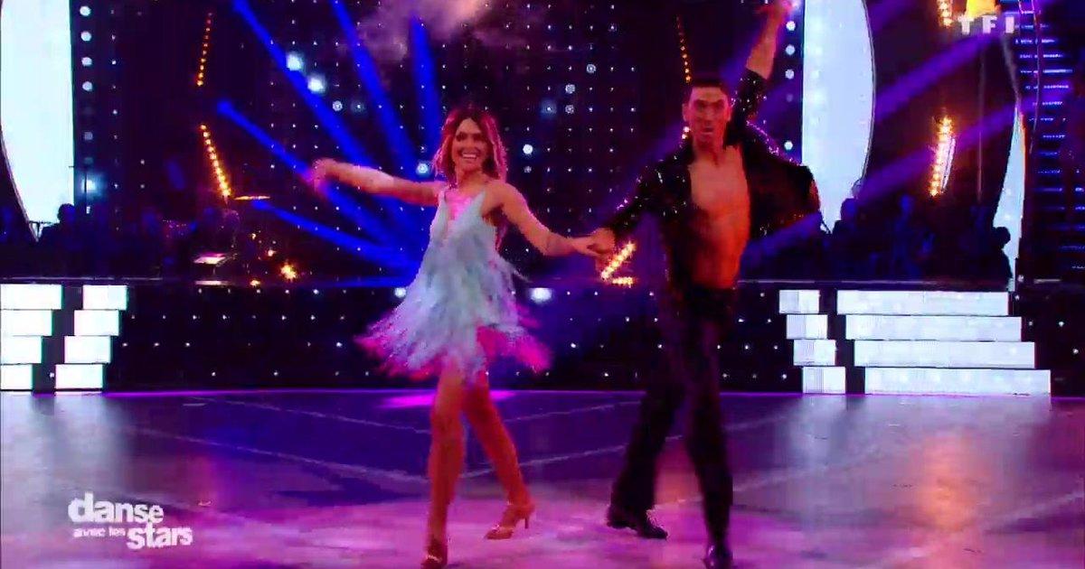 Danse avec les stars  : Une samba pour Caroline Receveur et Maxime sur « Alexandrie, Alexandra » (Claude François)  - TF1