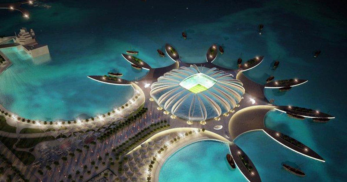 Qatar les stades de la coupe du monde 2022 t l foot tf1 - Stade coupe du monde 2022 ...