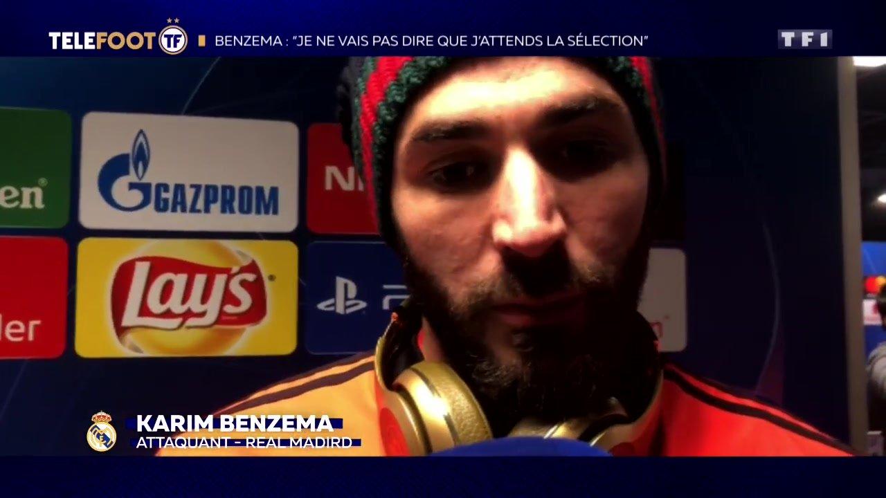"""[EXCLU Téléfoot 17/02] - Benzema sur sa saison au Real Madrid : """"Je travaille beaucoup"""""""