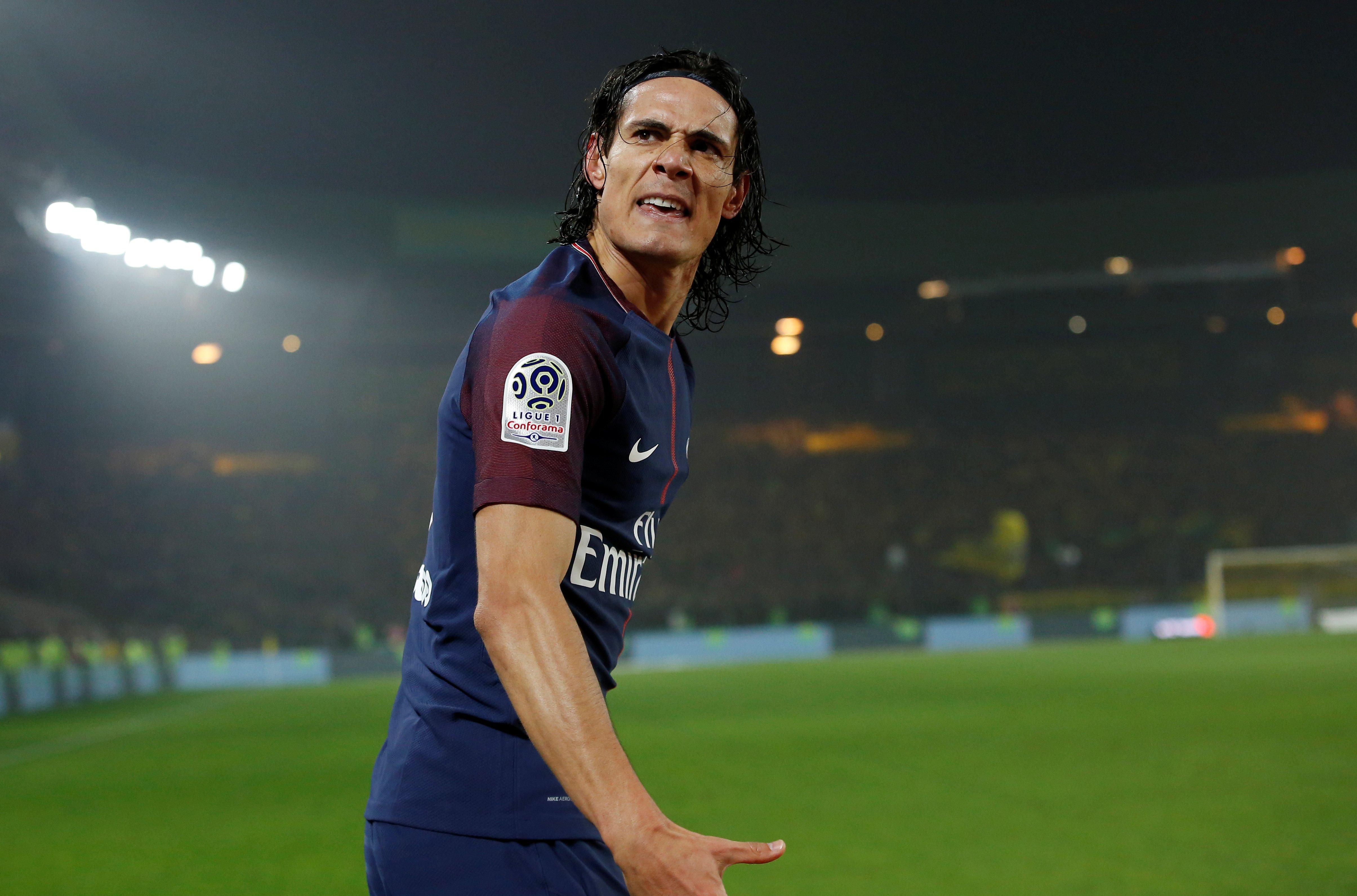 Ligue 1: Le PSG poursuit son sans-faute grâce à Cavani
