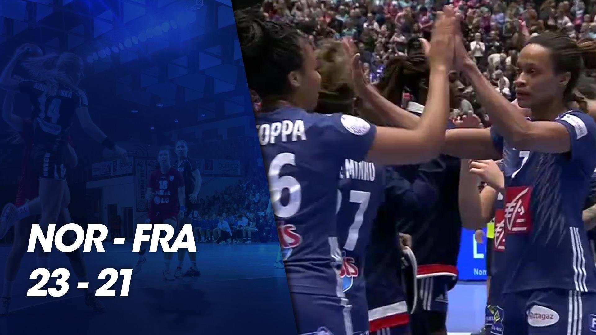Euro féminin de Handball 2018 - Match préparatoire Euro 2018 - Norvège    France du 25 novembre 2018 - Handball - TF1 e17b621c097