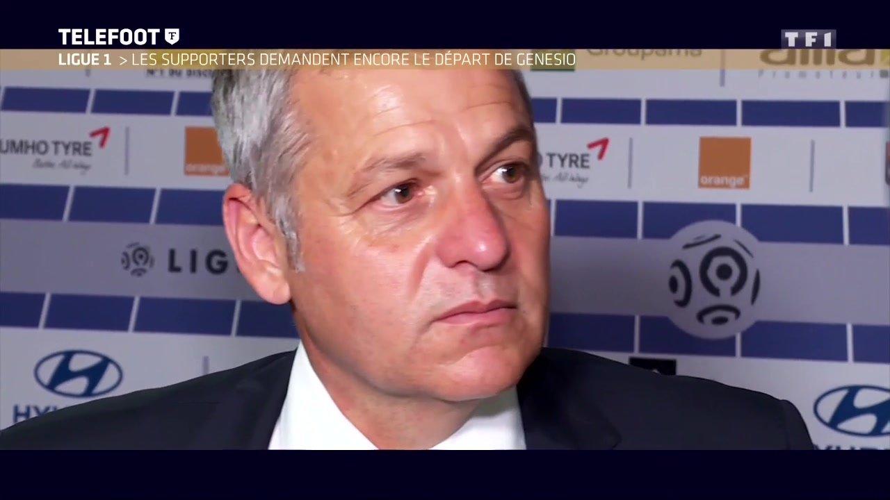 """[Exclu Téléfoot 20/05] - OL / Génésio : """"Oui, je veux continuer la saison prochaine"""""""
