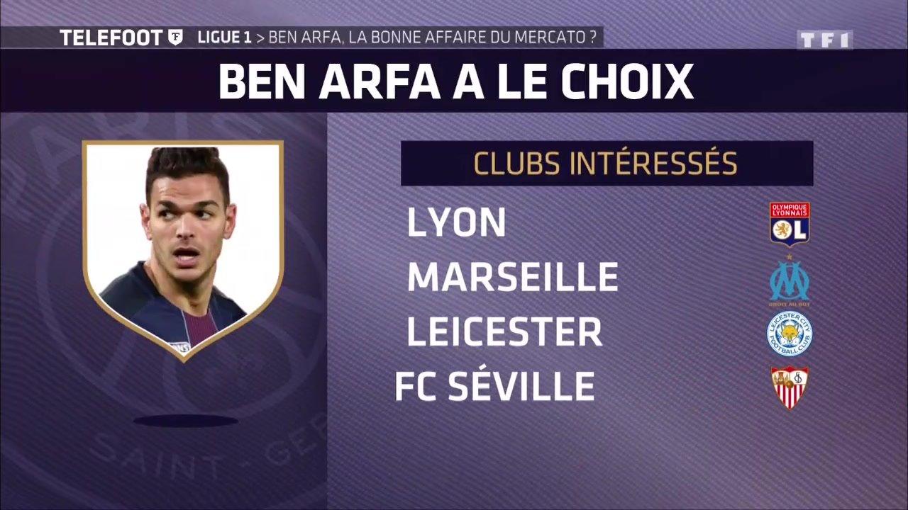 [EXCLU Téléfoot 15/04] - Mercato / Pisté par l'OL et l'OM, Ben Arfa n'exclut pas un avenir en Ligue 1