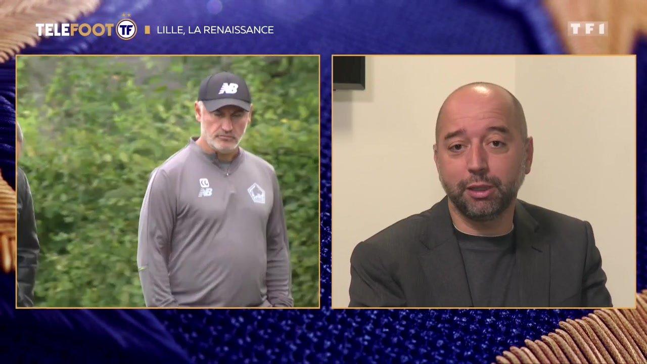 """[EXCLU Téléfoot - 23/09] - LOSC / Lopez sur la prolongation de Galtier : """"Oui on en parle et on en parlait déjà la saison passée"""""""