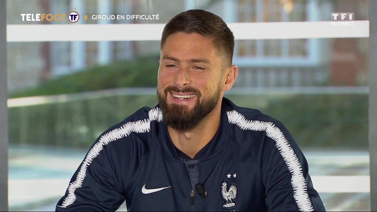 """[EXCLU Téléfoot - 18/11] - Giroud sur sa situation à Chelsea : """"Ne comptez pas sur moi pour baisser les bras"""""""