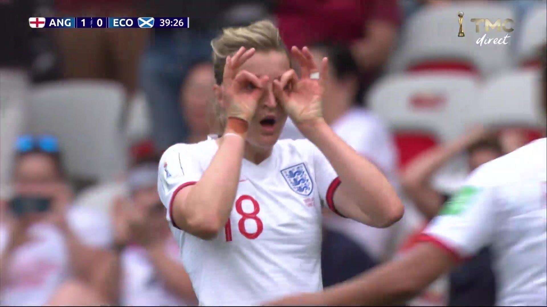 Angleterre-Ecosse - Le deuxième but signé White en vidéo