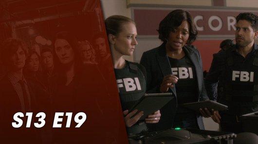 Voir le replay de l'émission Esprits Criminels du 17/10/2018 à 22h30 sur TF1
