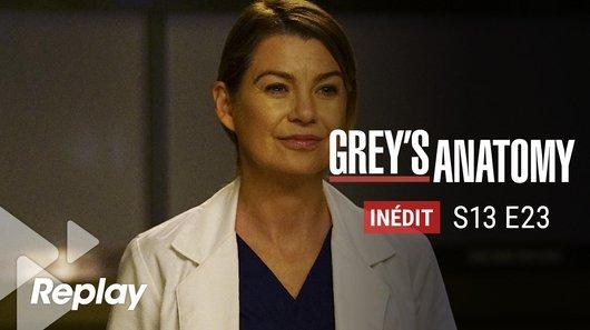 Voir le replay de l'emission Grey's Anatomy du 21/03/2018 à 22h30 sur TF1