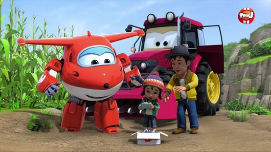 Voir le replay de l'emission Super Wings du 14/03/2018 à 08h30 sur TF1