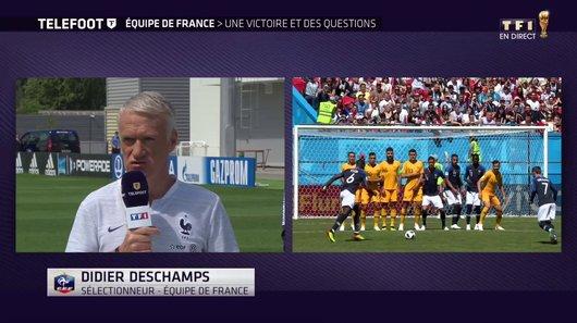 Voir le replay de l'émission Téléfoot du 17/06/2018 à 12h30 sur TF1