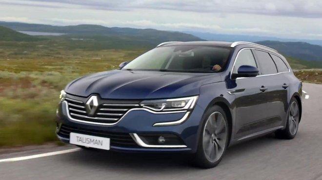 Renault Talisman Estate 2016 Prsentation Officielle Automoto Tf1
