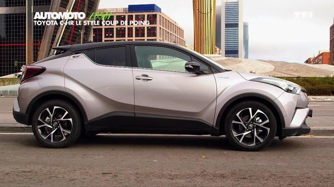 toyota chr blanc id e d 39 image de voiture. Black Bedroom Furniture Sets. Home Design Ideas
