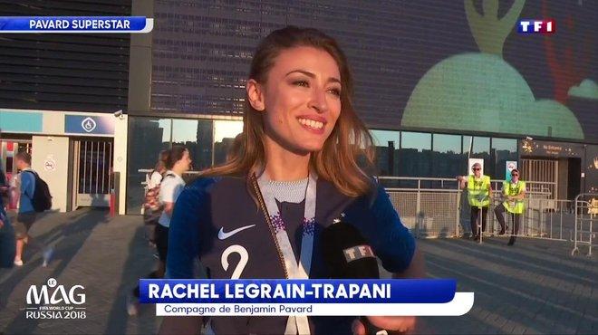 Rachel_Legrain-Trapani, la compagne de Benjamin Pavard, ex miss France, est  très fière - Coupe du monde de la FIFA 2018 - TF1