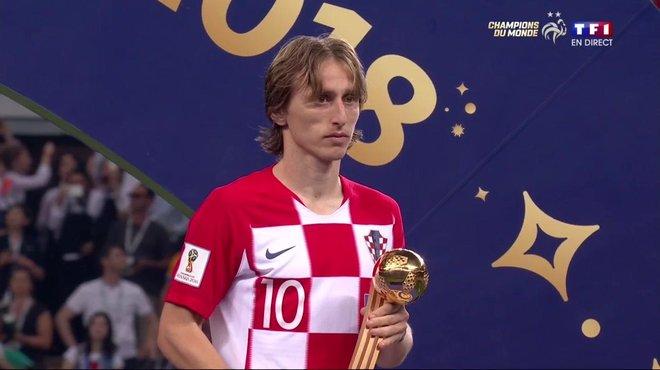 Luka modric d sign meilleur joueur de la coupe du monde - Les meilleurs buteurs de la coupe du monde ...