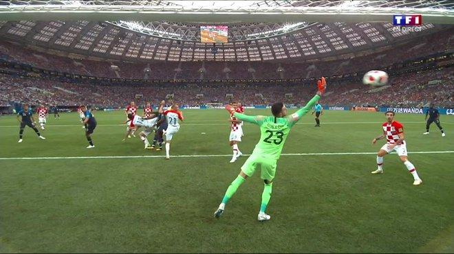 France Croatie 1 0 Voir Le But Contre Son Camp De Mario
