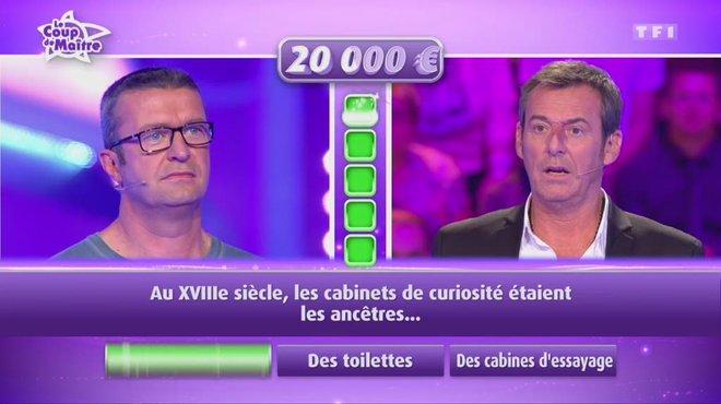 Les 12 coups de midi : Les 12 Coups: Fabrice ému après un brillant coup de maître ! TF1